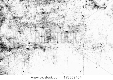 Black Grunge Texture Background. Abstract Grunge Texture On Distress Wall In Dark. Distress Grunge T
