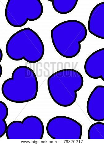 Romantic Pattern For Saint Valentine's Day, High Definition Decoration