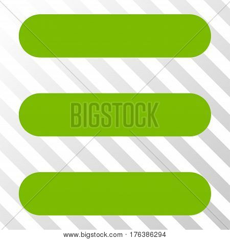 Stack vector pictograph. Illustration style is a flat iconic eco green symbol on a transparent background.