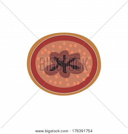 Structure of the ureter. Infographics. Vector illustration on isolated background.
