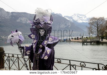 Venitian Carnival In Annecy, France