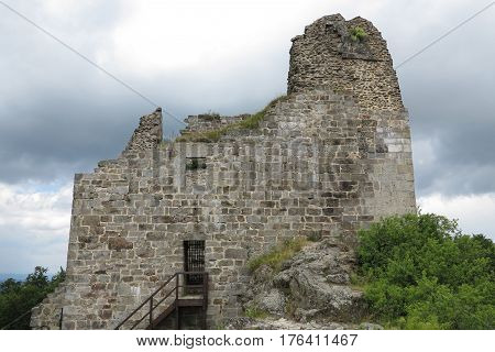 Primda castle - the one from the oldest stone castles in Czech republic