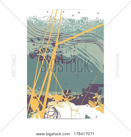 neo-grunge style vector template, maps, vechicles and transportation theme