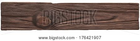 Old Dark Wood Planks Texture Background Plate