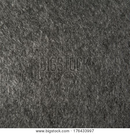 gray felt texture for background - macro