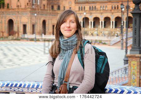 Female Backpacker