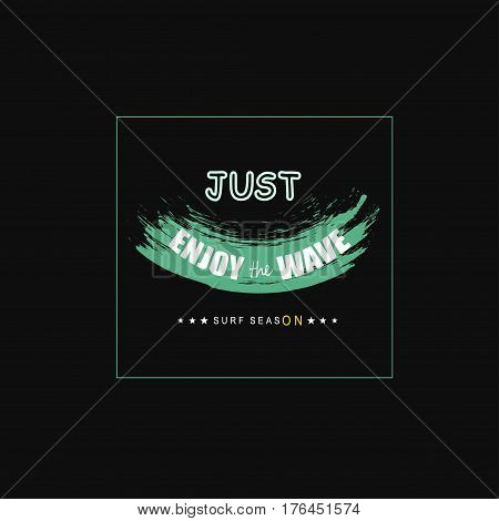 Vector illustration with phrase