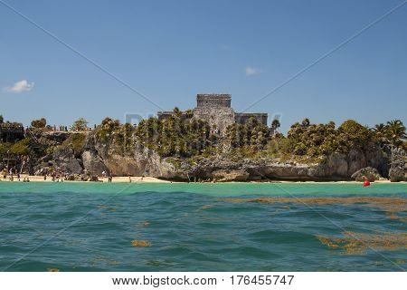 Ruins Of Tulum, Quintana Roo, Mexico
