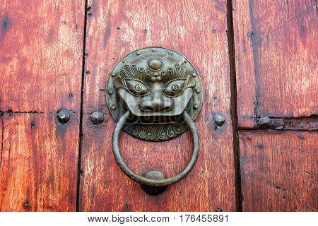 Old Historic Door Knocker