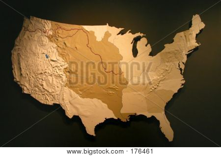 Us Map With Luisiana Purchase