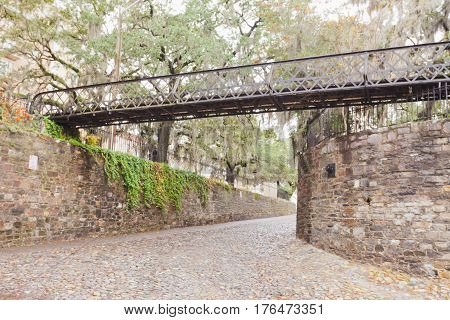 Cobblestone Bridge Historic District Savannah Ga