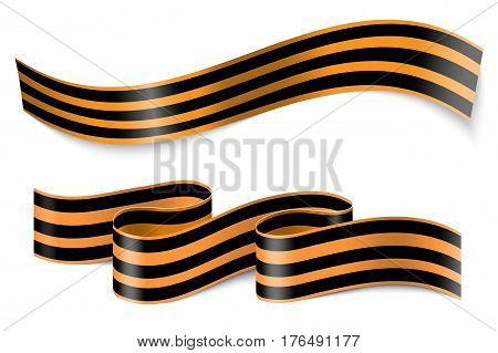 9 may ribbons. Stock Illustration EPS 10