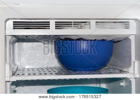 Defrosting Freezer Hot Water At Home