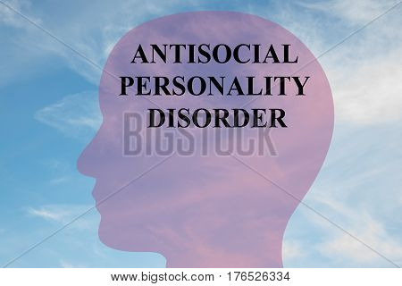 Antisocial Personality Disorder - Mental Concept