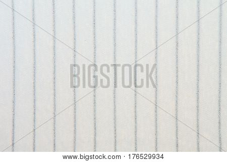 White striped Knitwear texture background with silver lurex thread poster