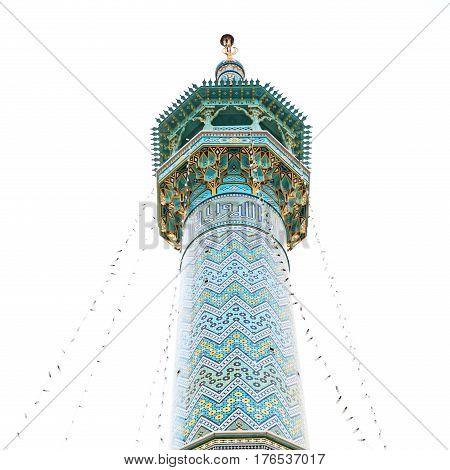 In Iran  Islamic Mausoleum