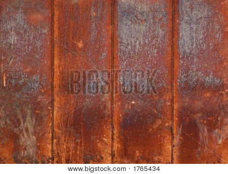 Rusty Copper Plates