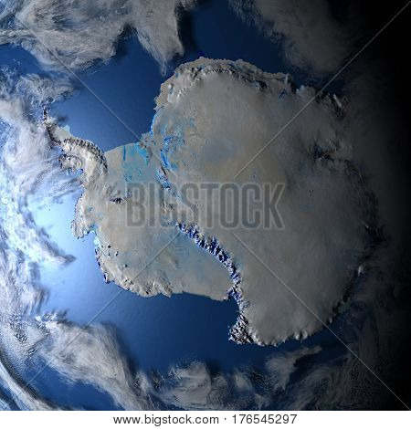 Antarctic On Planet Earth