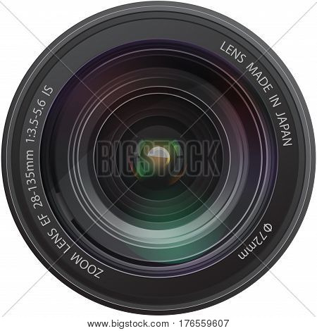 Camera realistic lens Shutter Zoom Photograph Equipment