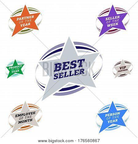 Bestseller Star Label