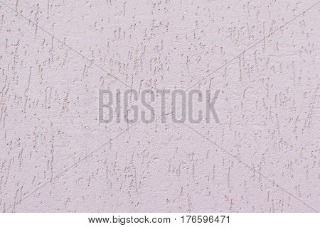 Wall background with decorative coating bark beetle. Decorative coating on the basis of cement.