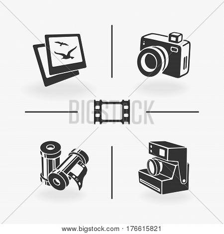Set of Vector Elements Photo eps 8 file format