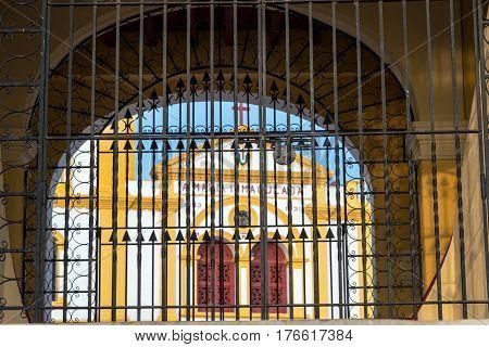 Church Behind Bars
