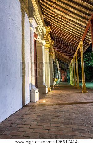 Colonial Mompox At Night