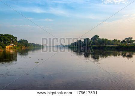 Early Morning Magdalena River