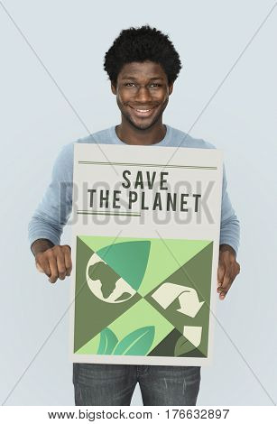 Save the planet is our responsibility.