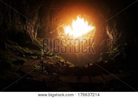 Fairy Cave in Kuching Sarawak Borneo malaysia