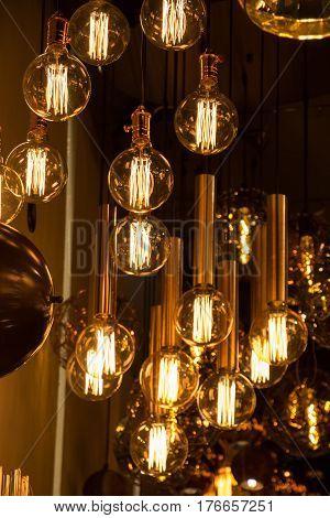 Decorative Antique Edison Style Filament Light Bulbs