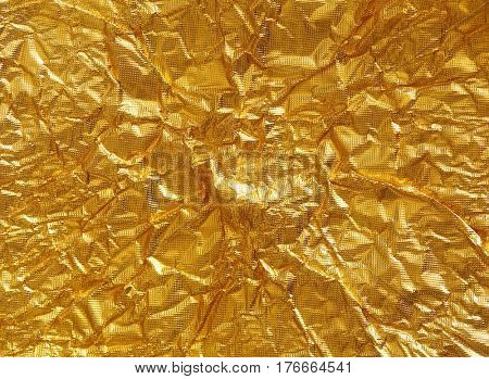 gold foil background texture.