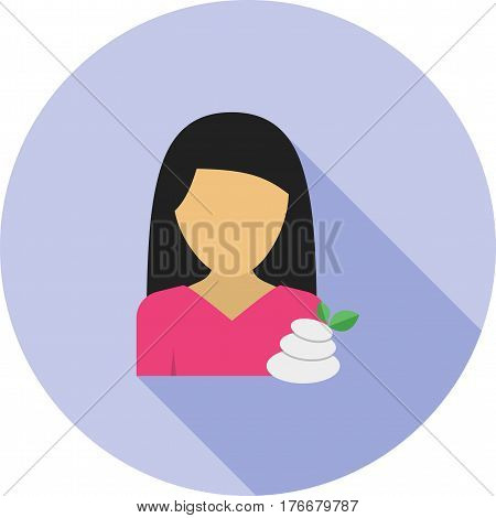 Treatment, dermatology, skin icon vector image. Can also be used for women. Suitable for mobile apps, web apps and print media.
