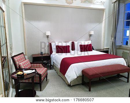 Casa Gangotena Guest Room