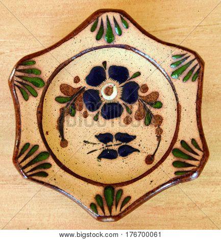 Rustic ashtray. Ceramic ashtray made by hand.