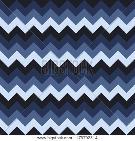 Chevron pattern seamless vector arrows geometric design colorful white blue dark blue naval blue