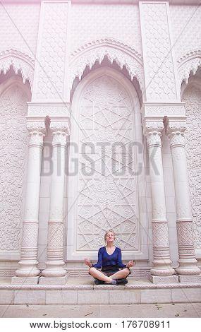 Young Woman Meditating