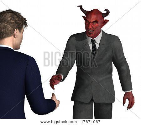 Sollten Sie diesen Kerl Vertrauen?