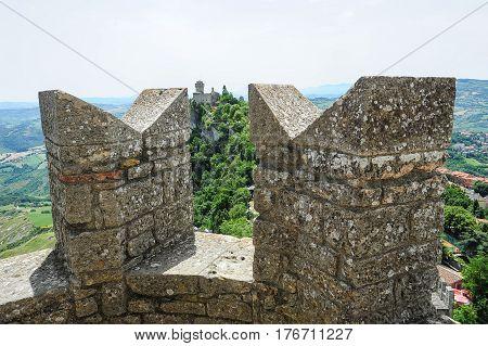 La Cesta Fortless View From Borgo Maggiore