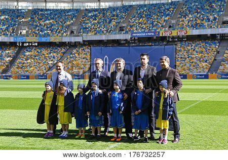 Ukraine Football Team: New Jerseys Presentation