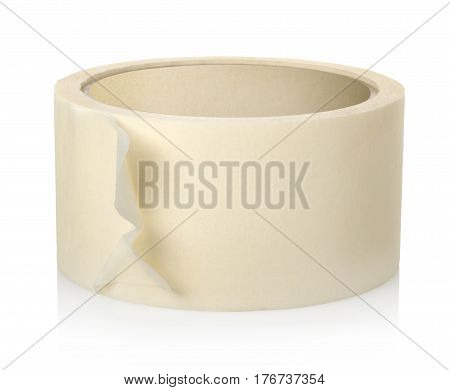 Roll of insulating tape isolated on a white background