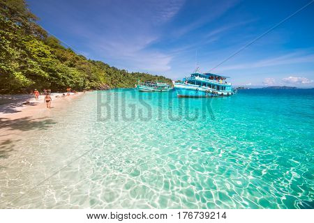 Ko Rang island at Trat in Thailand