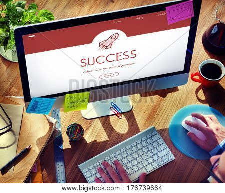 Success Market Expansion Investment Webpage