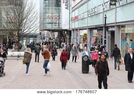 Shopping In Manchester Uk