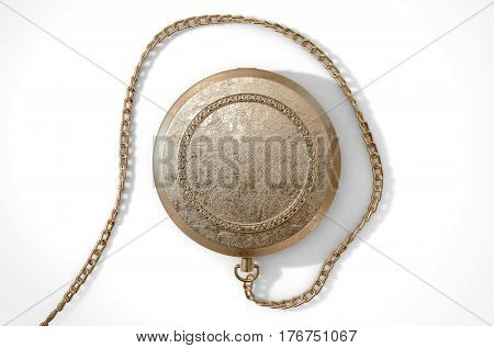 Closed Ornate Locket