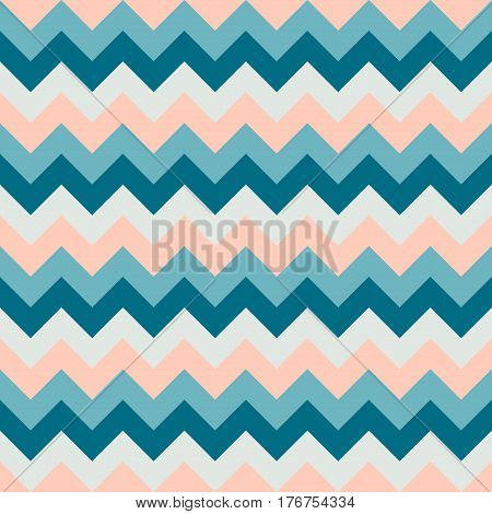 Chevron pattern seamless vector arrows geometric design colorful grey pink aqua naval blue
