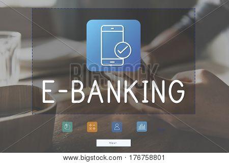 E-Banking Online Bank Transaction Concept
