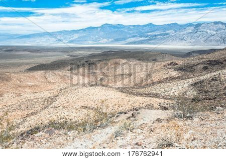 Landscape around Death Valley National Park, California