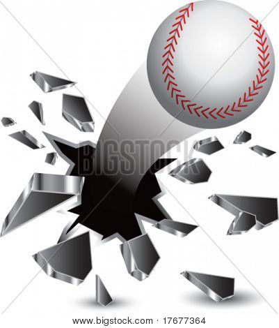 breakthrough baseball isolated